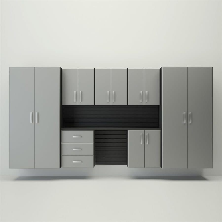 Flow Wall Systems Deluxe 144 In W X 72 H Black Silver