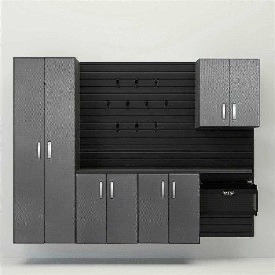 Flow Wall 96 In W X 72 In H Black Silver Carbon Fiber