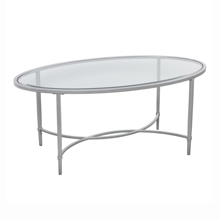 Shop Boston Loft Furnishings Quinlan Clear Glass Coffee Table At