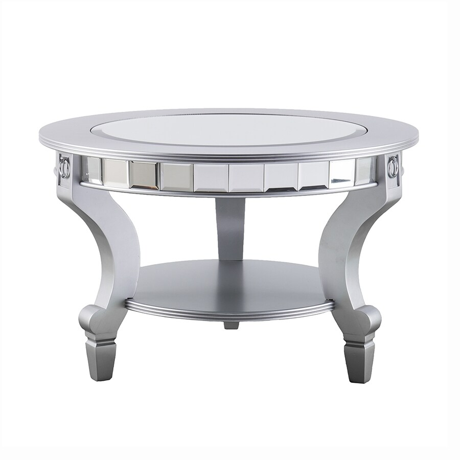 Shop Boston Loft Furnishings Leyton Mirrored Glass Round Coffee Table At