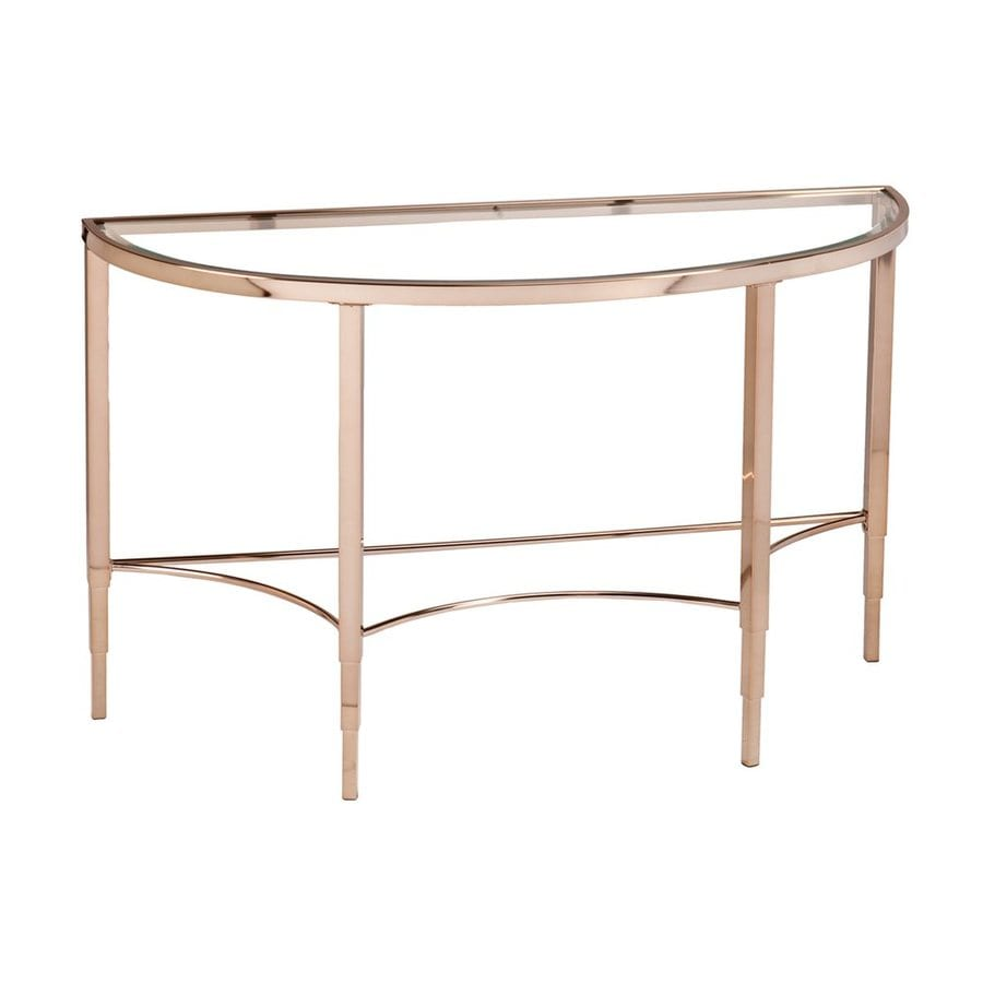 Boston Loft Furnishings Monroe Clear Console Table