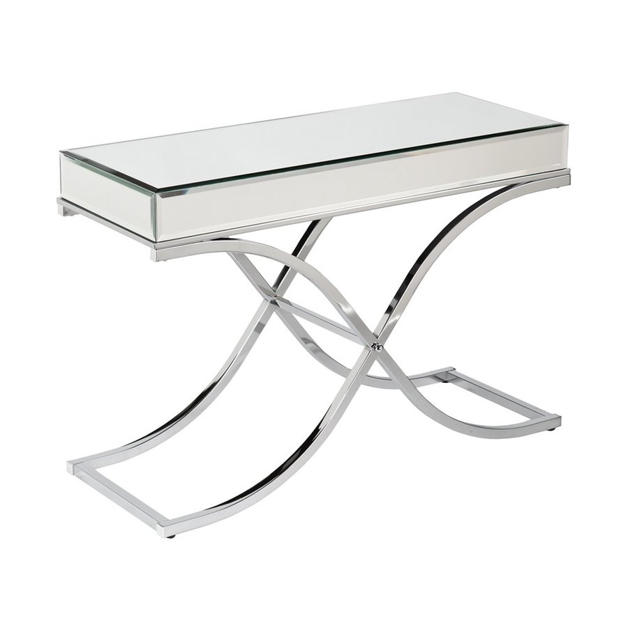 Boston Loft Furnishings Stacy Mirrored Console Table