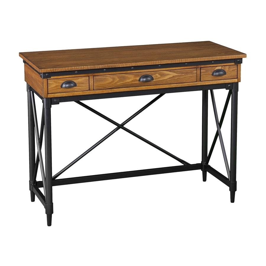 Boston Loft Furnishings Lati Transitional Salem Antique Oak Writing Desk
