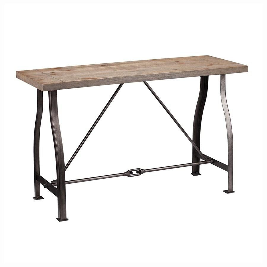 Boston Loft Furnishings Jabril Weathered Russet Console Table