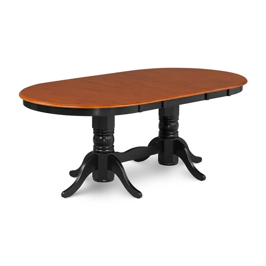 M&D Furniture Somerville Cherry Wood Extending Dining Table