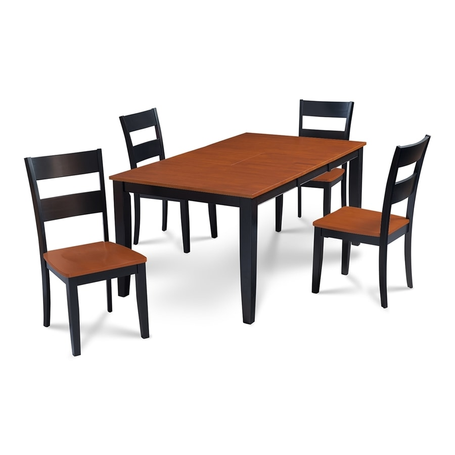 Shop MampD Furniture Sunderland BlackCherry Dining Set with  : 1000316639 from www.lowes.com size 900 x 900 jpeg 146kB