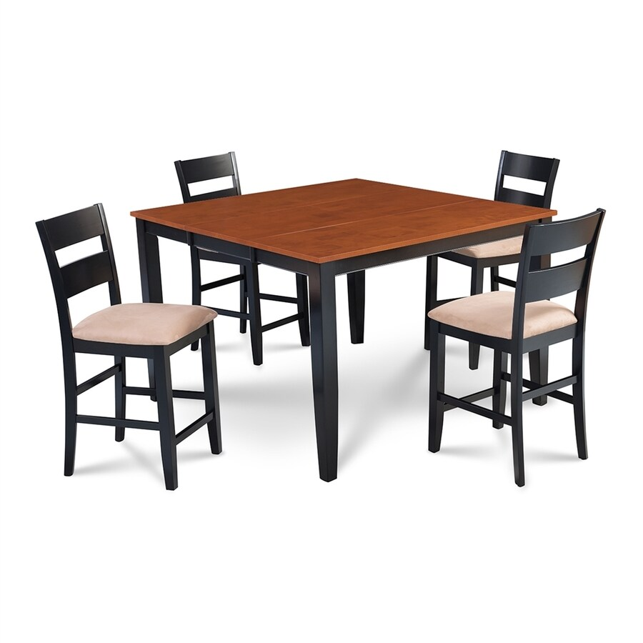 Shop MampD Furniture Sunderland BlackCherry Dining Set with  : 1000316679 from www.lowes.com size 900 x 900 jpeg 171kB