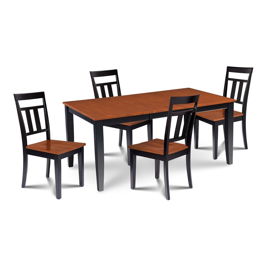 Shop MampD Furniture Sunderland BlackCherry Dining Set with  : 1000316809 from www.lowes.com size 900 x 900 jpeg 150kB