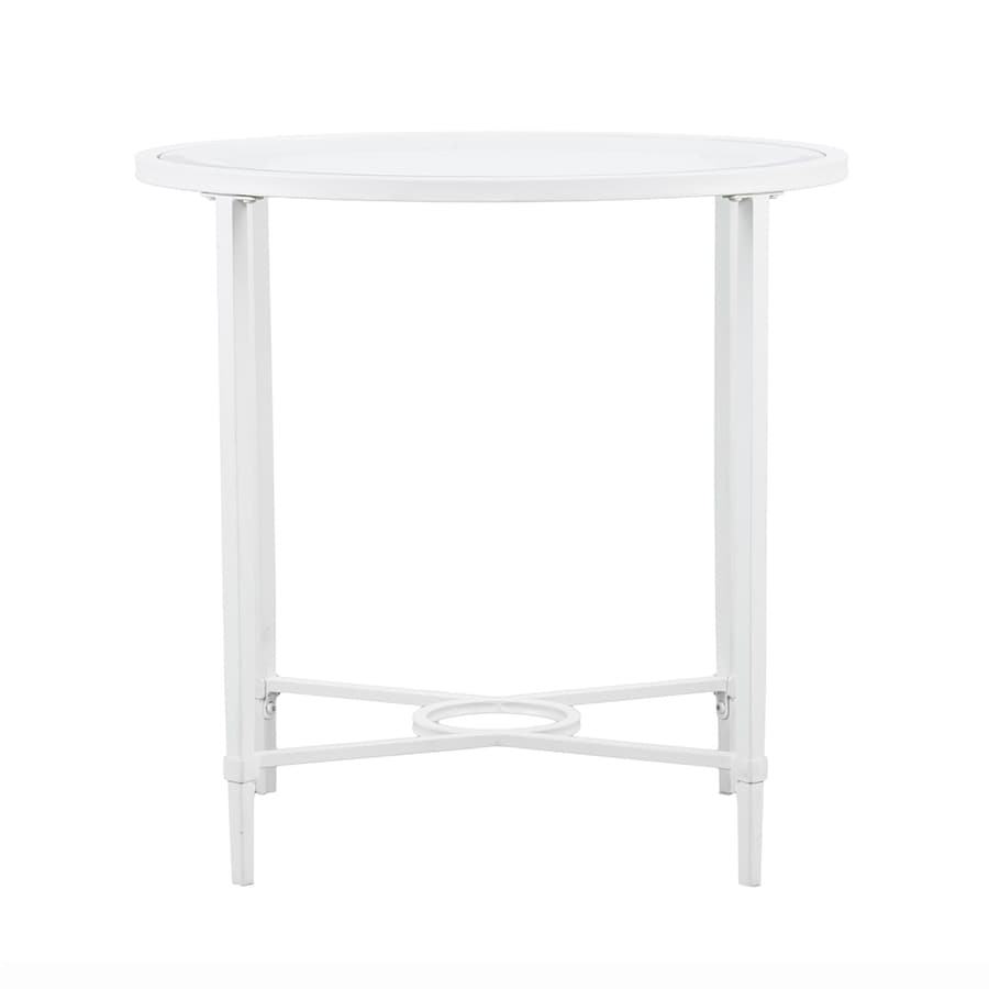 Boston Loft Furnishings Quinlan White End Table