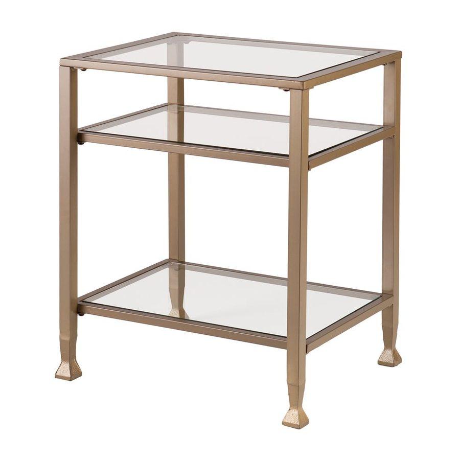 Boston Loft Furnishings Lea Matte Gold End Table