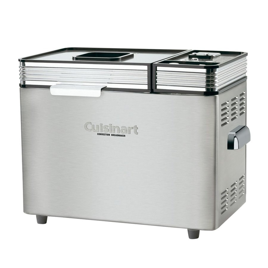 Cuisinart Brushed Stainless Steel Bread Maker At Lowes Com