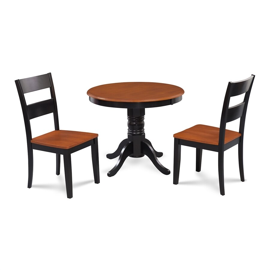 Shop MampD Furniture Brookline BlackCherry Dining Set with  : 1000317911 from www.lowes.com size 900 x 900 jpeg 118kB