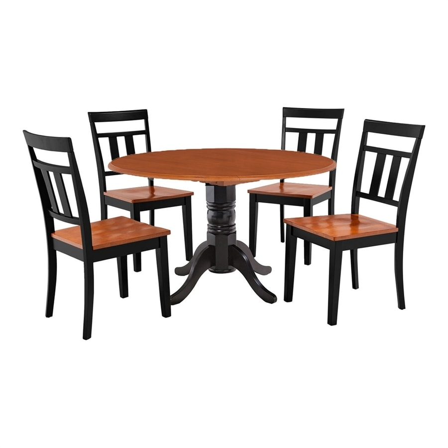 Shop MampD Furniture Burlington BlackCherry Dining Set with  : 1000318379 from www.lowes.com size 900 x 900 jpeg 149kB