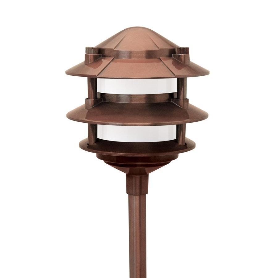 paradise garden lighting. Paradise Garden Lighting 11-Watt Copper Low Voltage Halogen Path Light