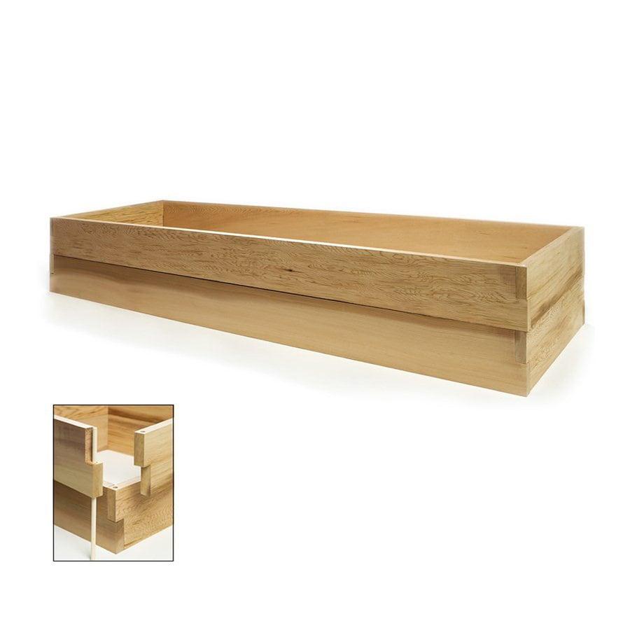 All Things Cedar 24-in W x 70-in L x 11-in H Red Cedar Raised Garden Bed