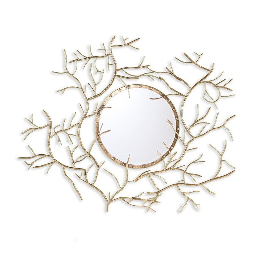 Boston Loft Furnishings Brinch Gold Framed Irregular Wall Mirror