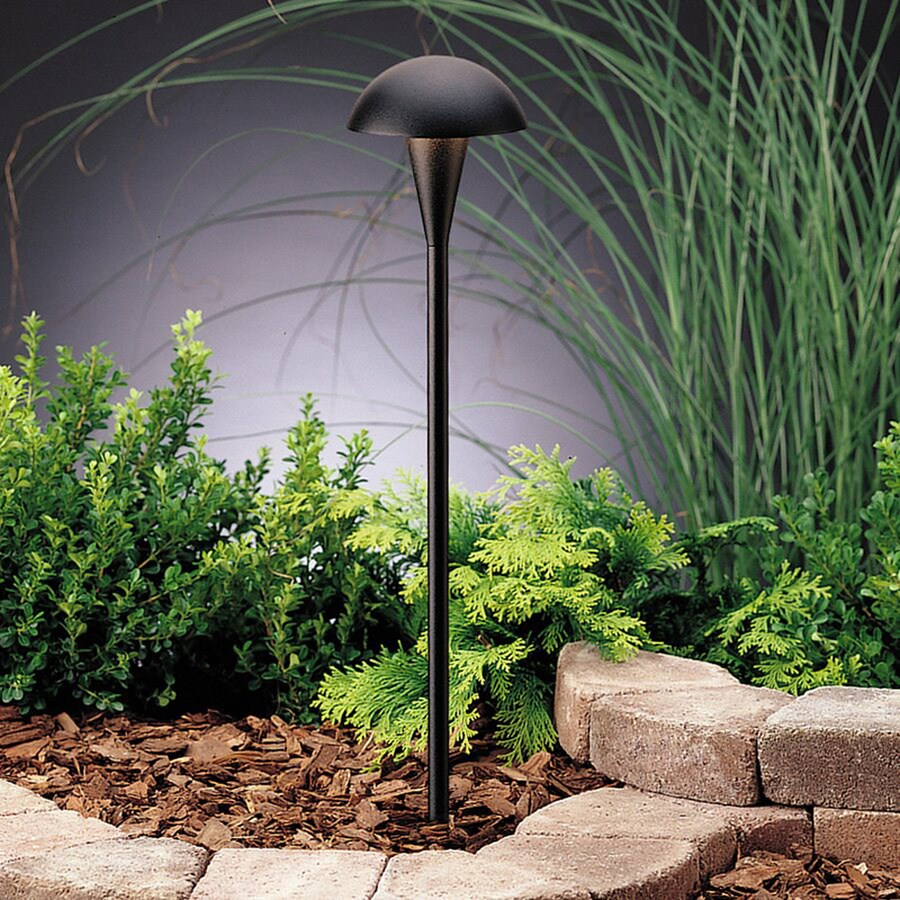 Kichler Eclipse 24.4-Watt Textured Black Low Voltage  Path Light