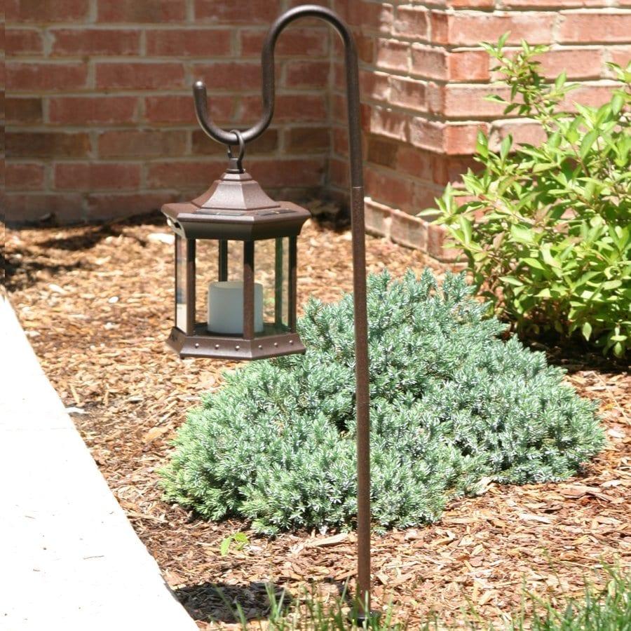Starlite Garden & Patio Torche Weathered Brown Solar LED Path Light