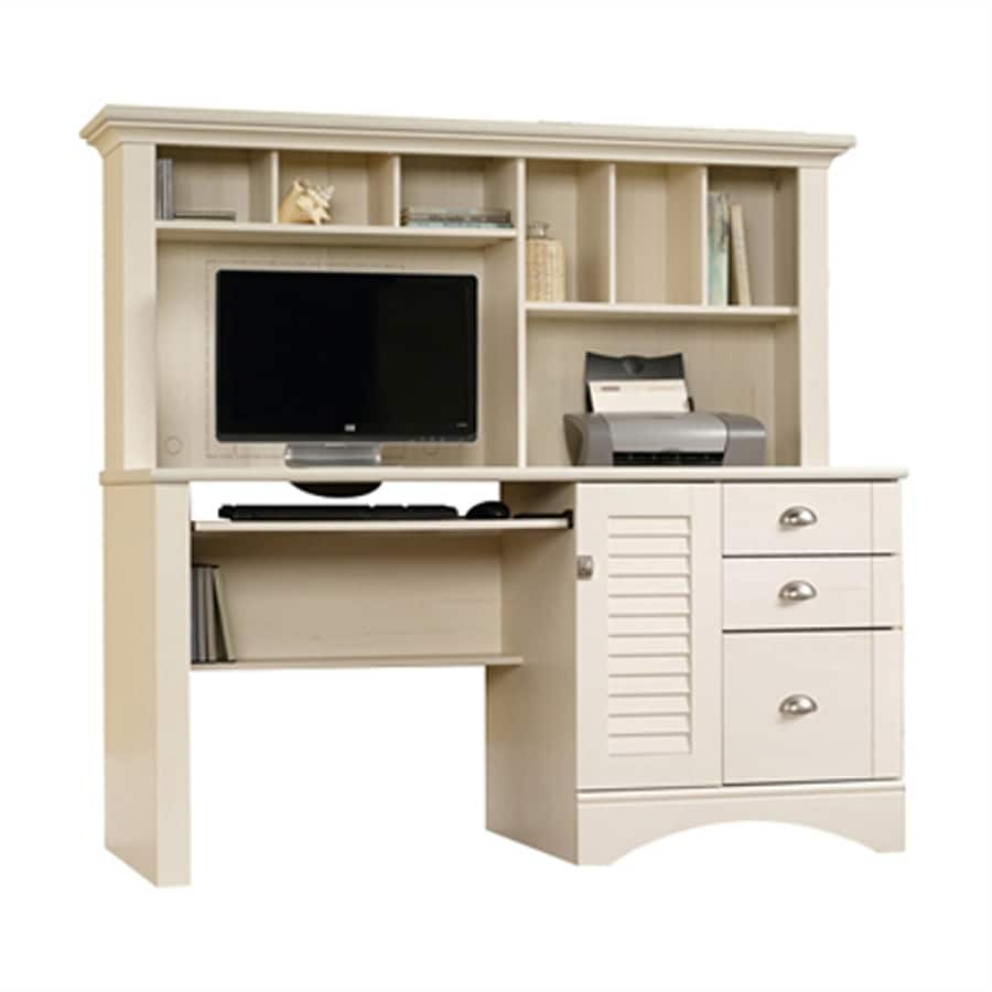 desk desks three computer with white pedestal drawer drawers