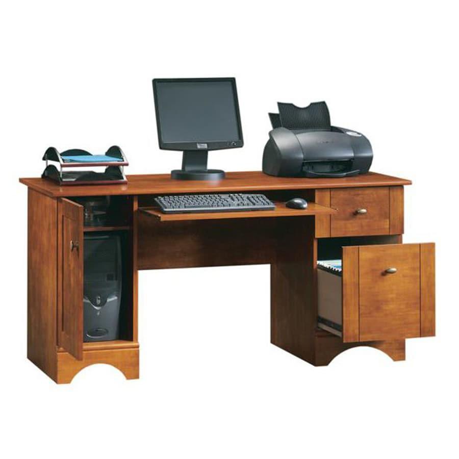 Sauder Transitional Brushed Maple Computer Desk