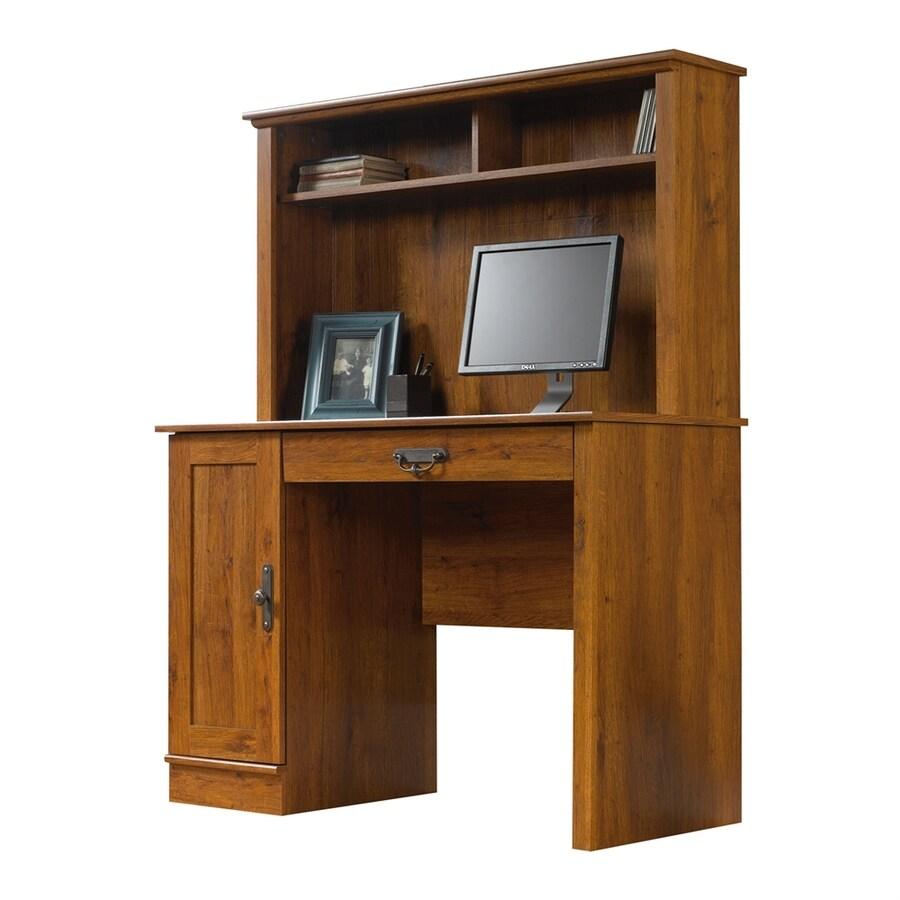 Sauder Harvest Mill Transitional Abbey Oak Computer Desk