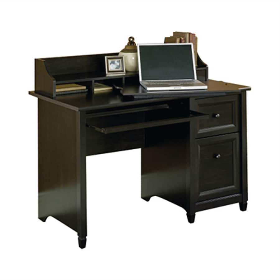 Sauder Edge Water Transitional Estate Black Computer Desk