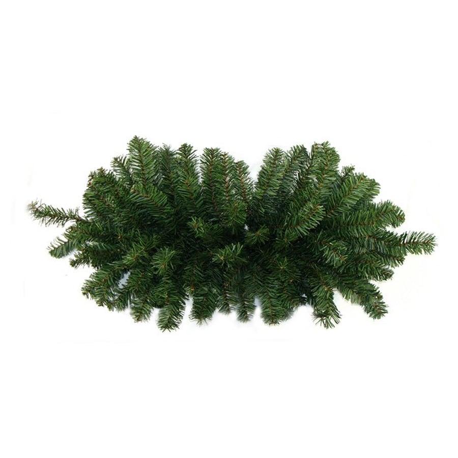 Northlight Indoor/Outdoor 2.7-ft L Canadian Pine Swag Garland