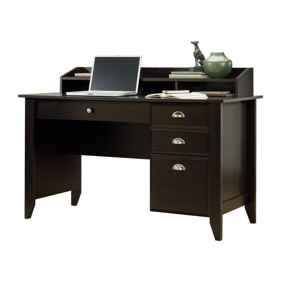 Sauder Shoal Creek Transitional Jamocha Wood Computer Desk