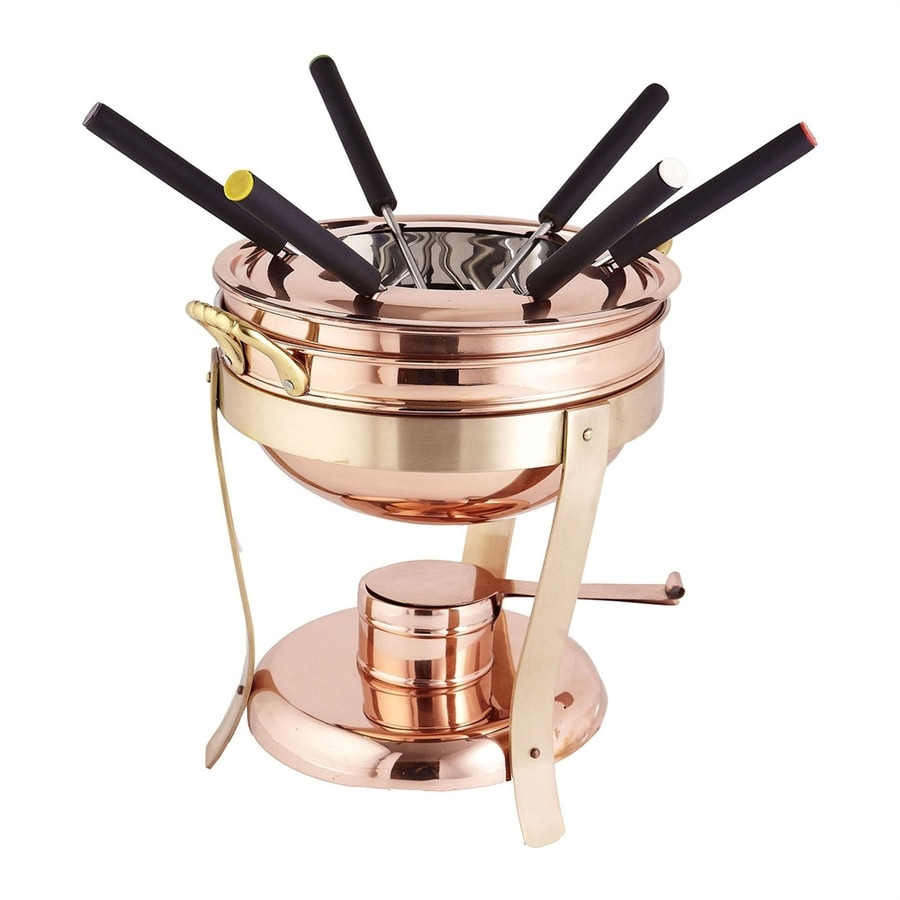 Old Dutch 88-oz Gold Fondue Pot