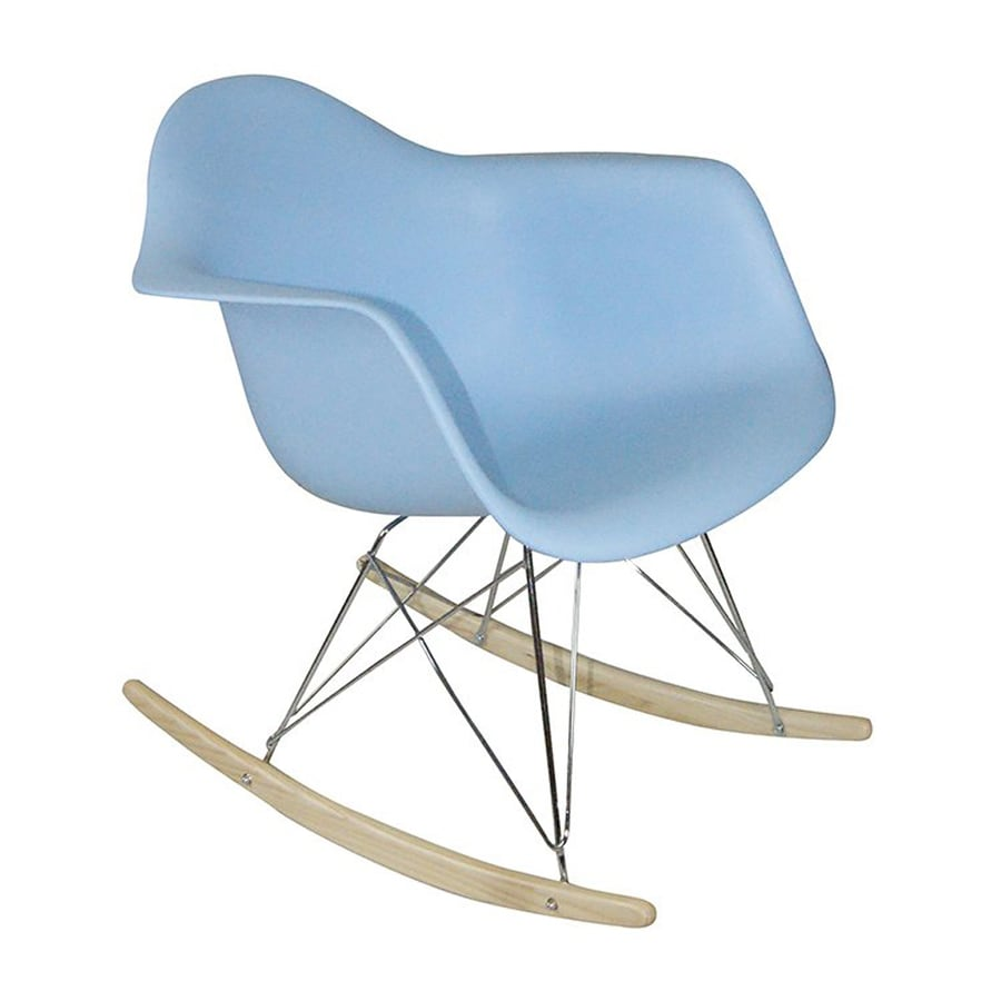 shop mod made paris modern blue rocking chair at. Black Bedroom Furniture Sets. Home Design Ideas