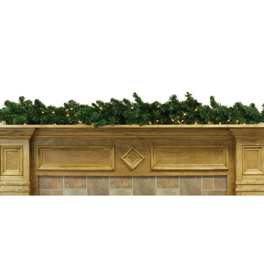 Northlight Pre-Lit 6-ft L Garland with White Incandescent Lights