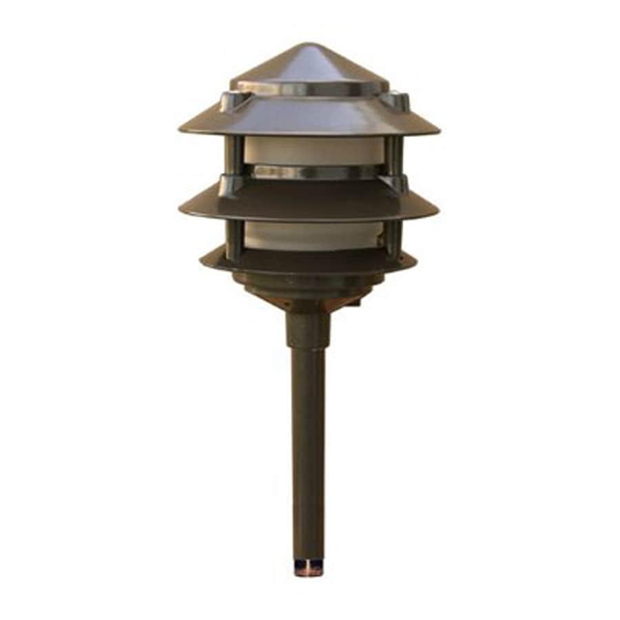 Dabmar Lighting 20-Watt Bronze Low Voltage Halogen Path Light