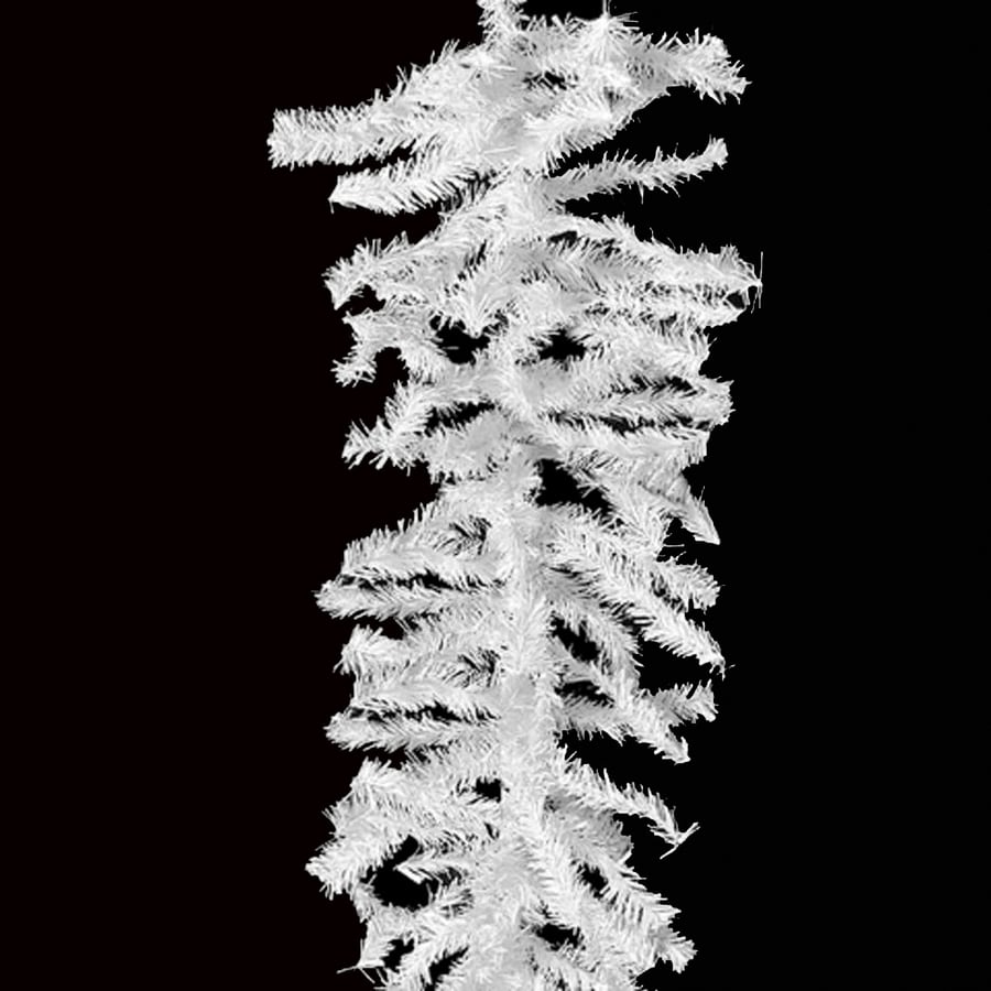 Northlight Indoor/Outdoor 100-ft L Snow with with White Garland