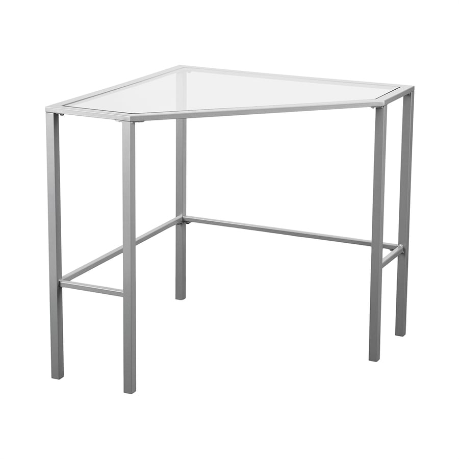 Boston Loft Furnishings Keyley Contemporary Silver Writing Desk