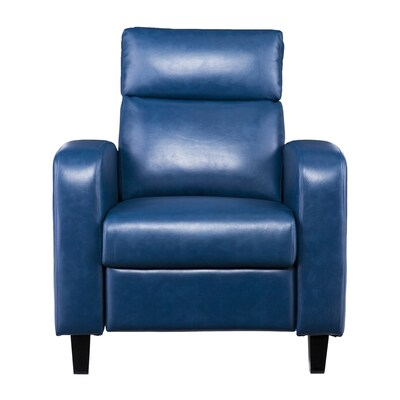 Superb Boston Loft Furnishings Bickone Blanche Royal Blue Faux Gamerscity Chair Design For Home Gamerscityorg