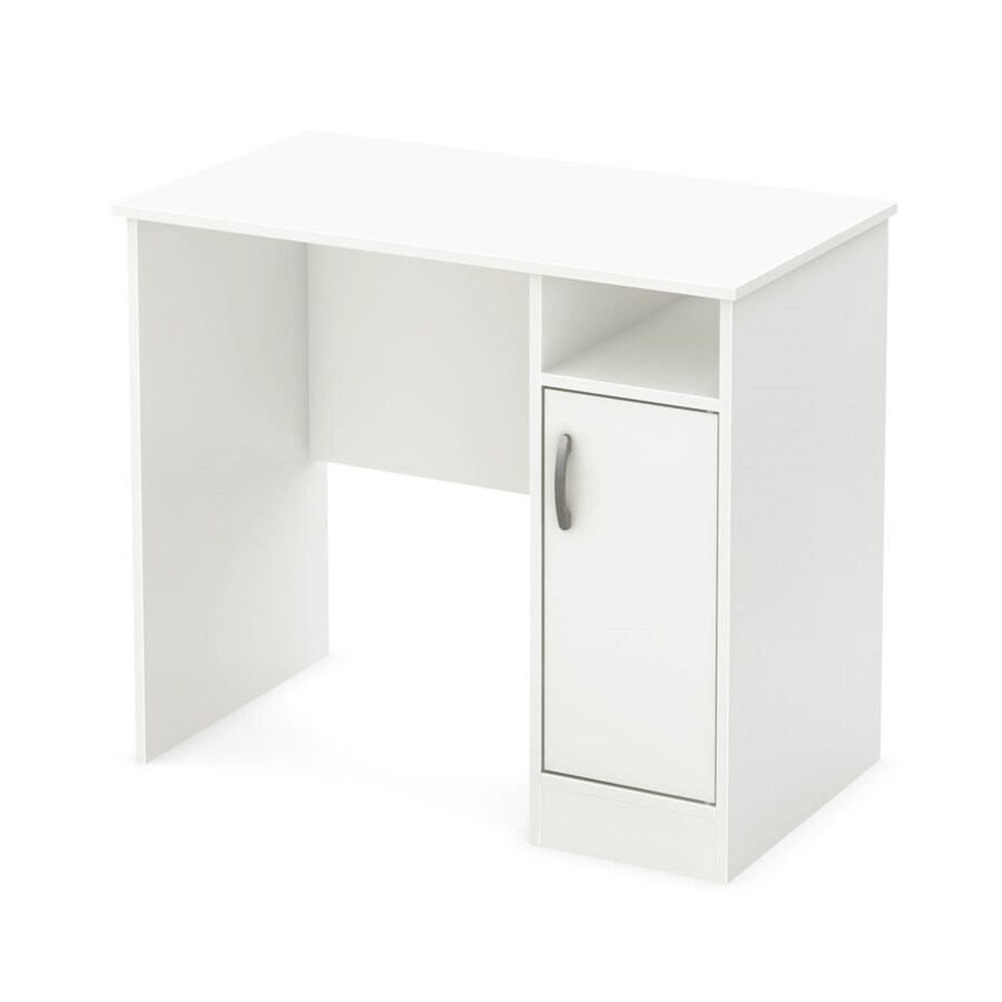 South Shore Furniture Axess Transitional Pure White Writing Desk