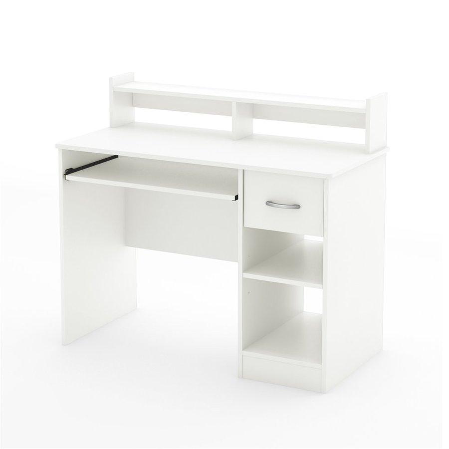 South Shore Furniture Axess Contemporary Pure White Computer Desk