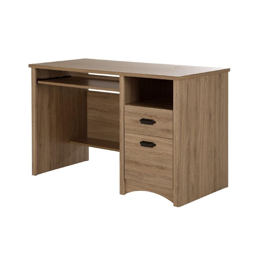 Rustic Oak Computer Desk Desk Design Ideas