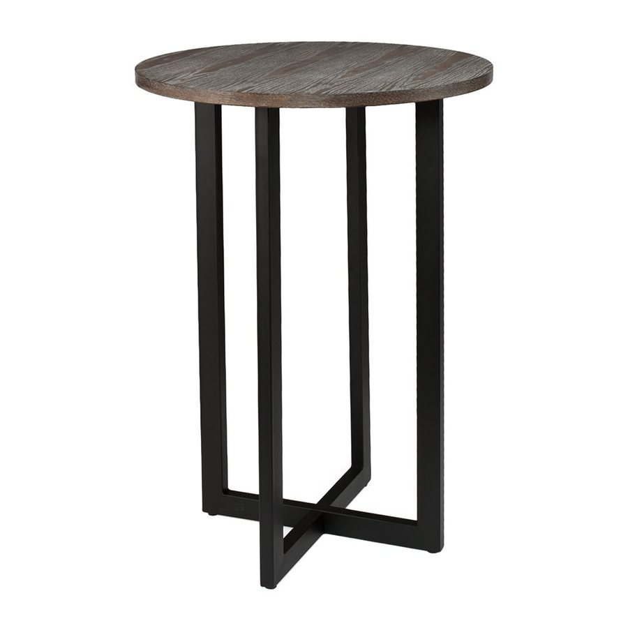 Superieur Holly U0026 Martin Danby Burnt Oak Round Bar Height Table