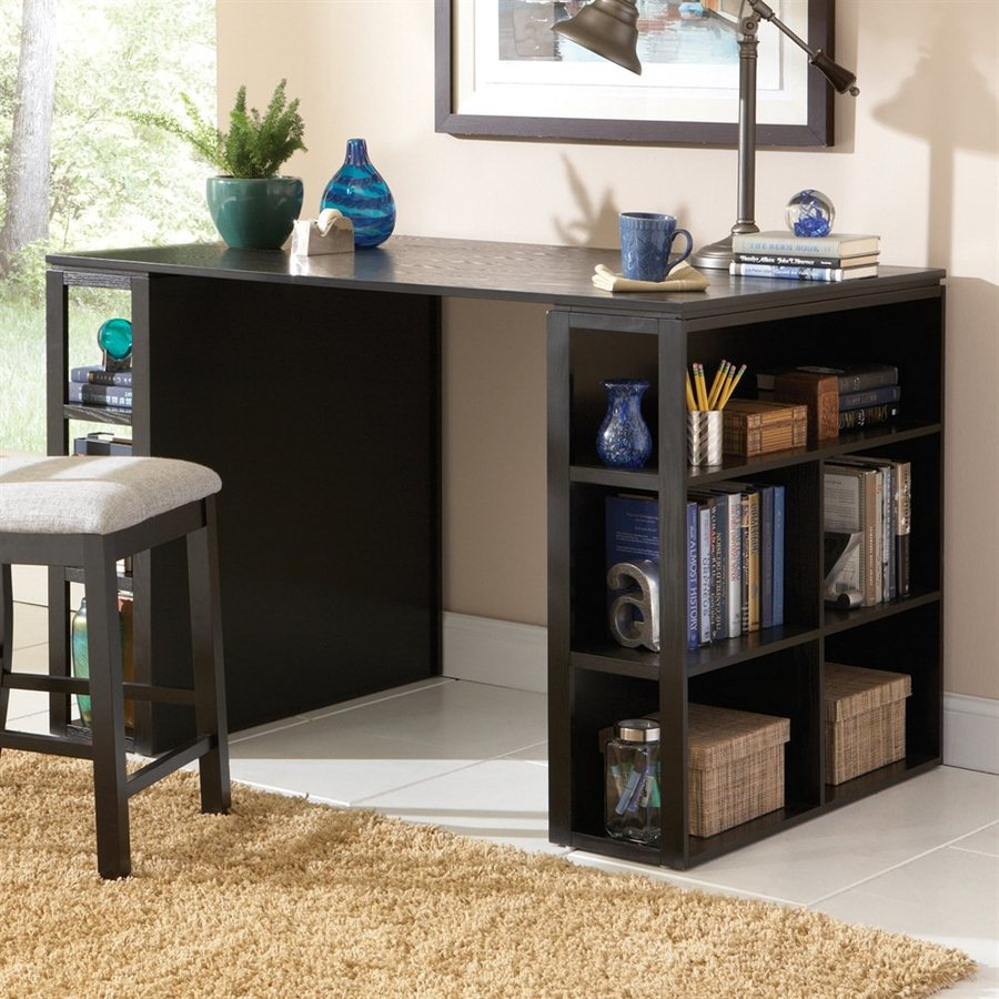 Steve Silver Company Bradford Contemporary Black Writing Desk