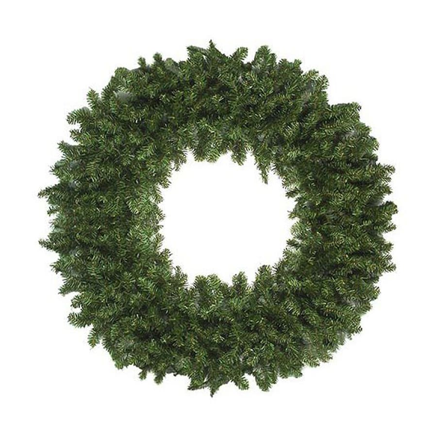 Northlight 60-in Indoor/Outdoor 2-tone Medium Green Canadian Pine Artificial Christmas Wreath