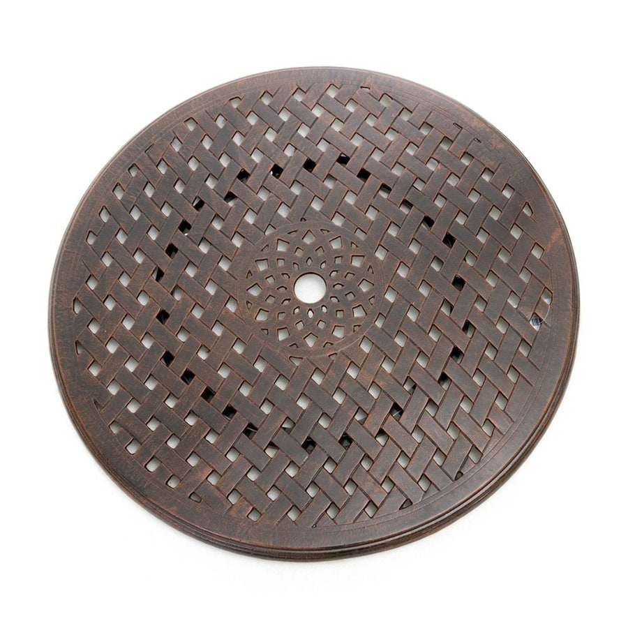 Best Selling Home Decor Cast Aluminum Round Tabletop Lazy Susan