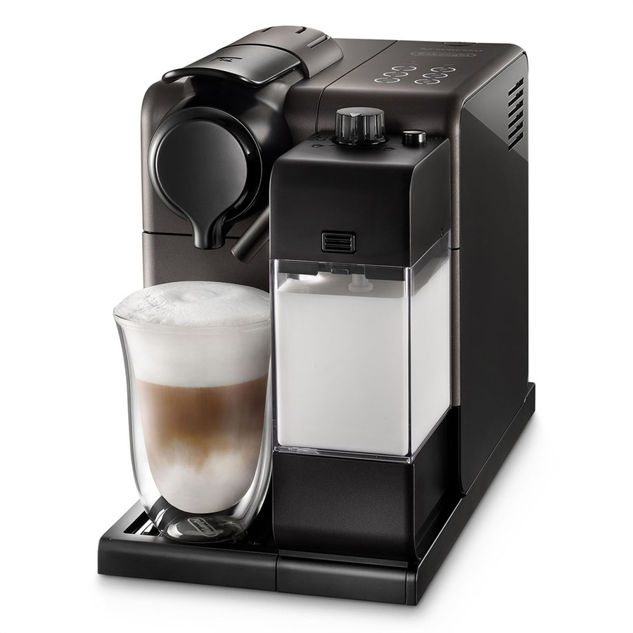 shop delonghi nespresso lattissima cup black programmable coffee maker at. Black Bedroom Furniture Sets. Home Design Ideas