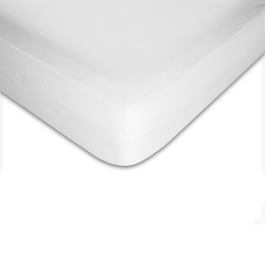 Fashion Bed Group Sleep Calm Cotton Twin Hypoallergenic Mattress Topper with Bed Bug Protection