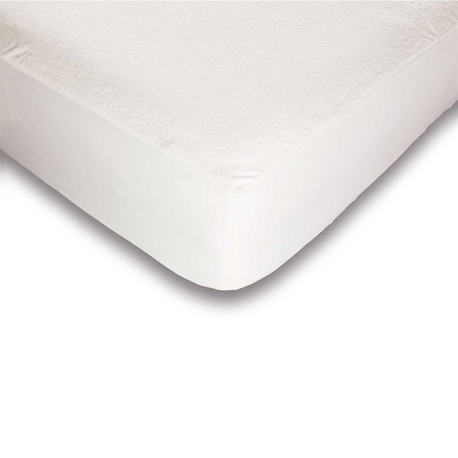 Fashion Bed Group Sleep Plush Polyester Twin Hypoallergenic Mattress Topper with Bed Bug Protection