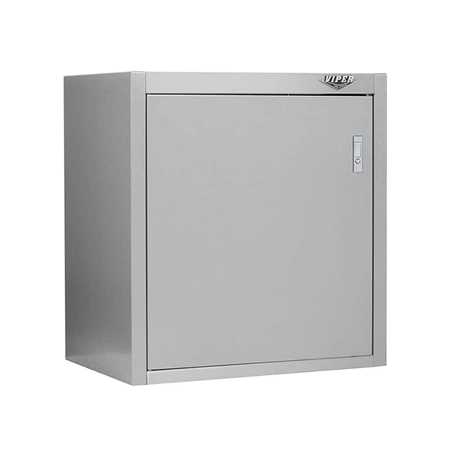Viper Tool 26.61-in W x 28.35-in H x 18.11-in D Stainless Steel Freestanding or Wall Garage Cabinet