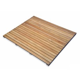 Regal Teak 26 In L X W Natural Bath Mat