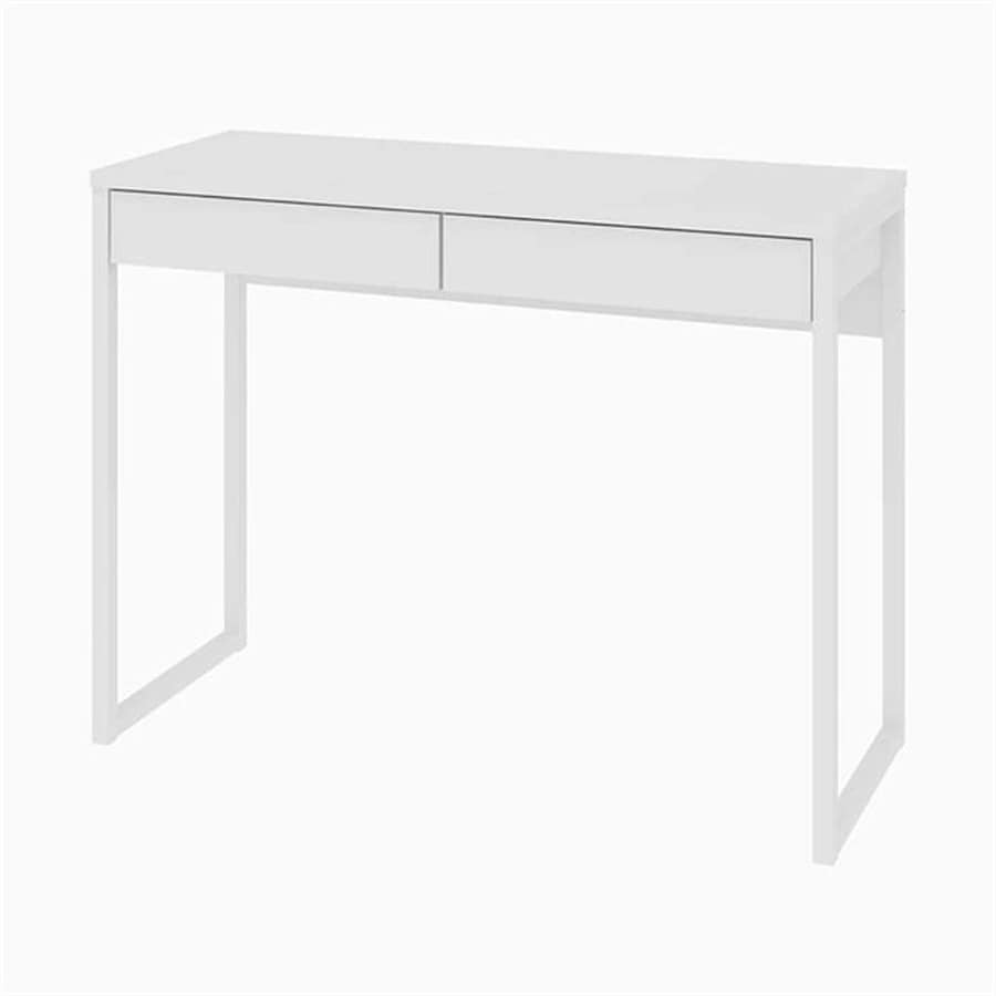 Tvilum Walker Transitional White Writing Desk