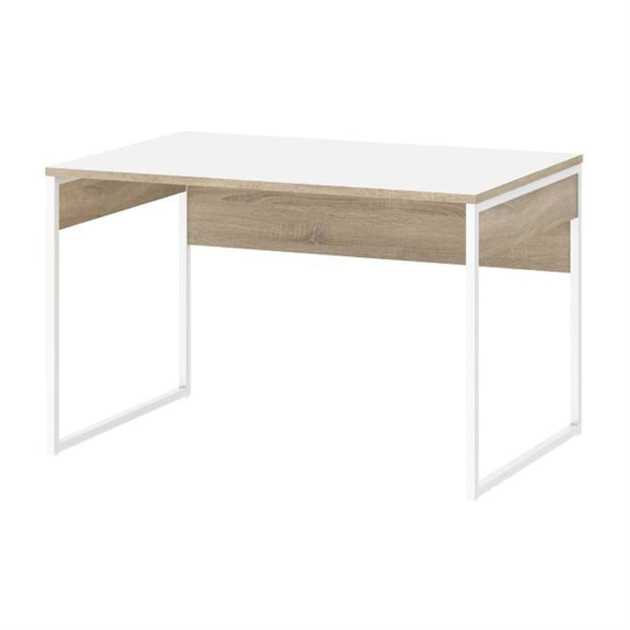 Tvilum Hamilton Transitional White Writing Desk