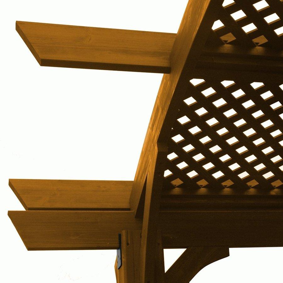 Outdoor Greatroom Company Lattice Roof for 16-ft Sonoma Pergolas